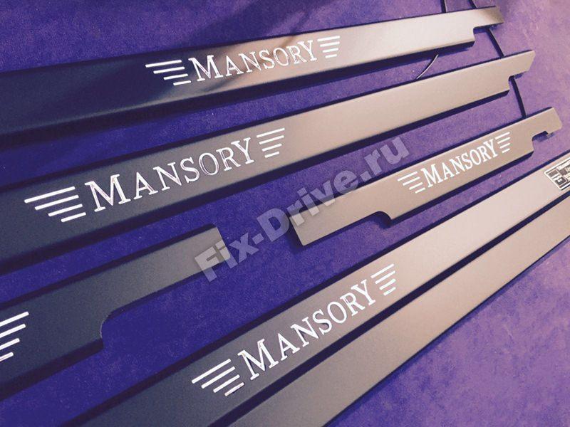 Пороги Mansory G-Class w463 Mercedes-Benz