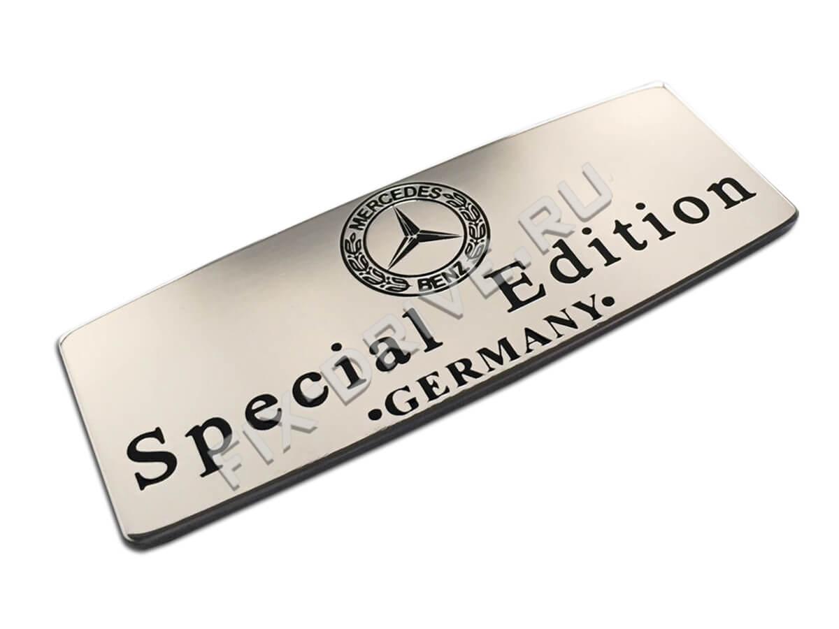 Эмблема шильд Mercedes-Benz Special Edition SLK-Class r172