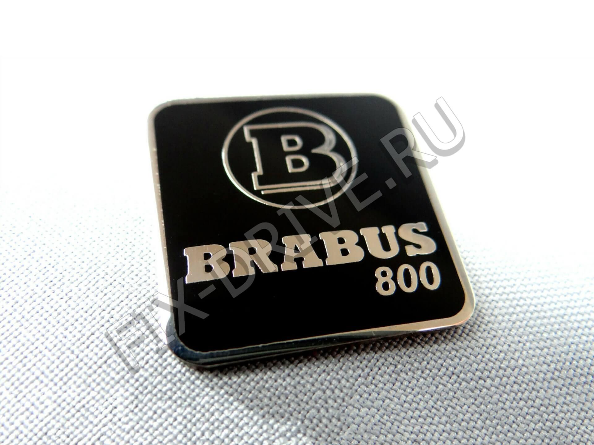 Эмблема Brabus 800 250мм квадратная