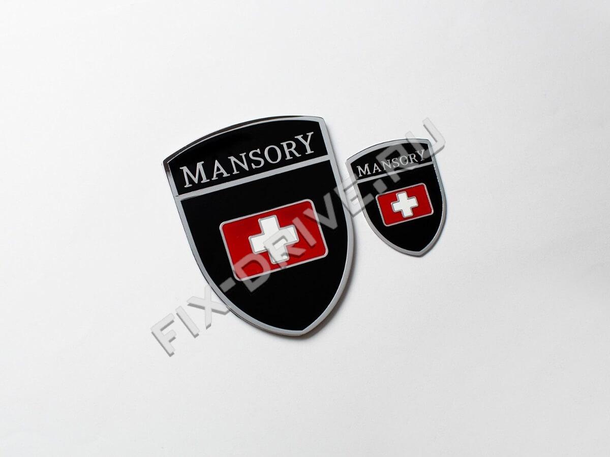 Шильд Mansory Porsche Cayenne 958