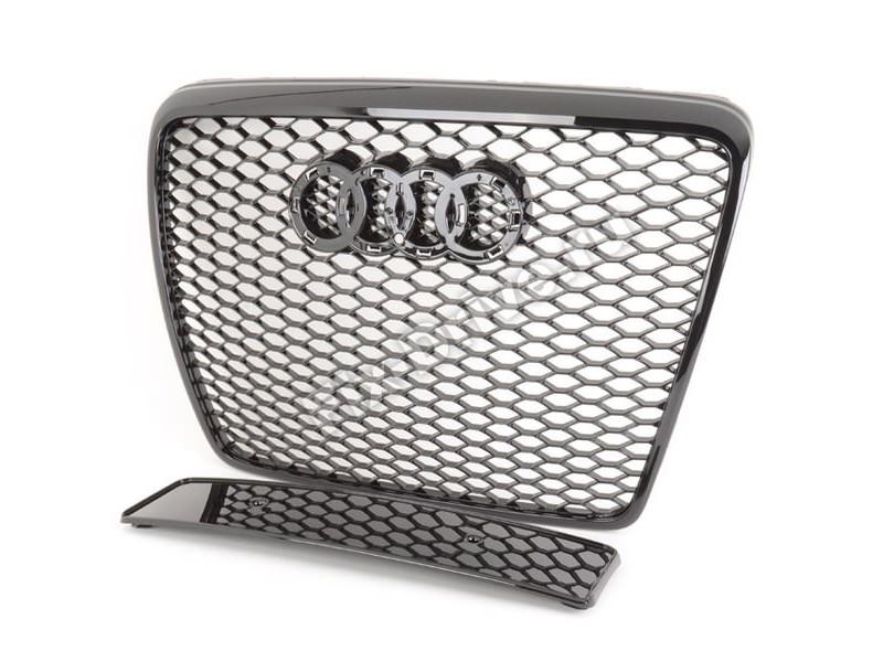 Решетка радиатора RS6 для AUDI A6 С6 2004-2011