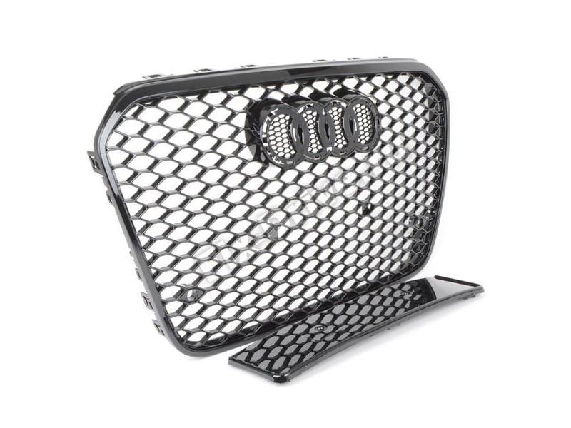 Решетка радиатора RS6 для AUDI A6 С7 2012-2016