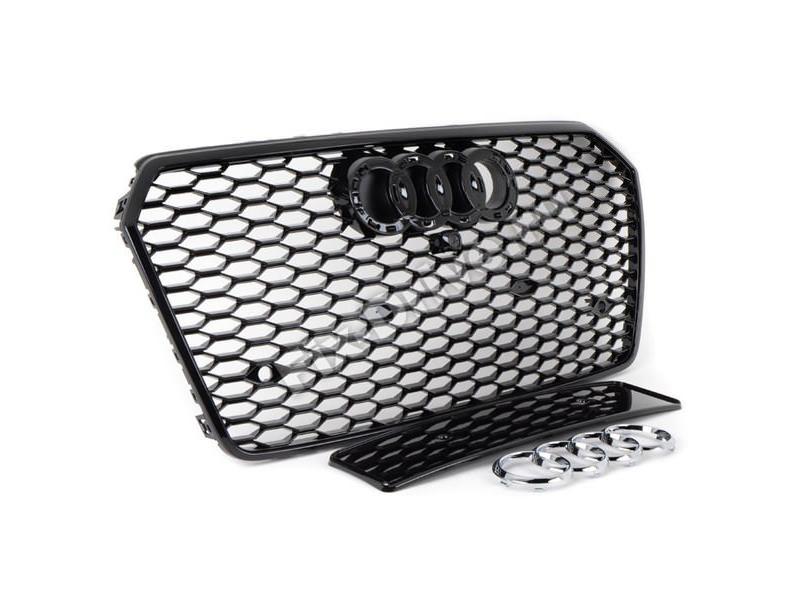 Решетка радиатора RS7 для AUDI A7 4G 2014+