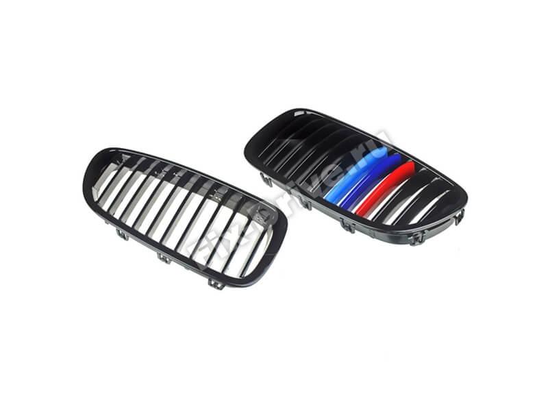 Решетка радиатора BMW 5-Series F10 M-Perfomance (Черные)