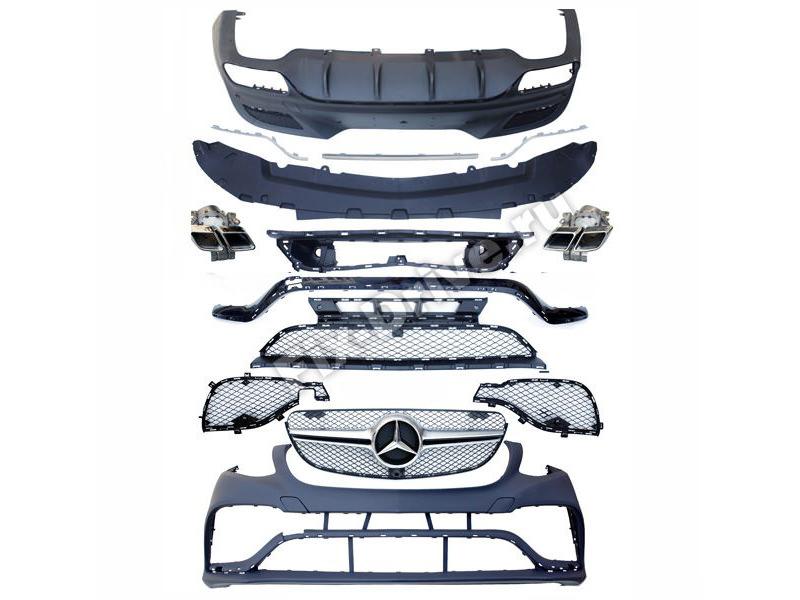 Обвес GLE63 AMG для Mercedes-Benz GLE-Class Coupe C292