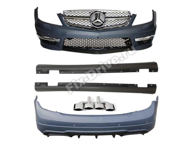 Обвес C63 AMG Mercedes-Benz C-Class W204