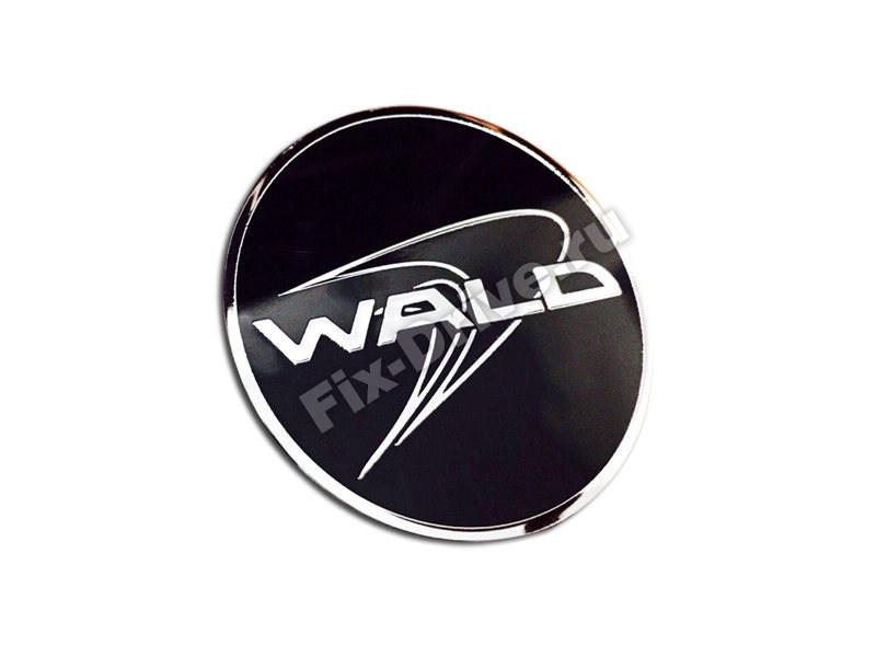 Эмблема шильд WALD капот руль багажник w126