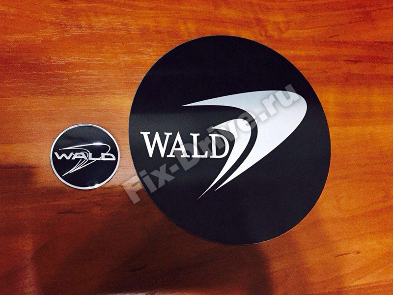 Эмблема шильд WALD капот руль багажник Mercedes-Benz G-Class w463