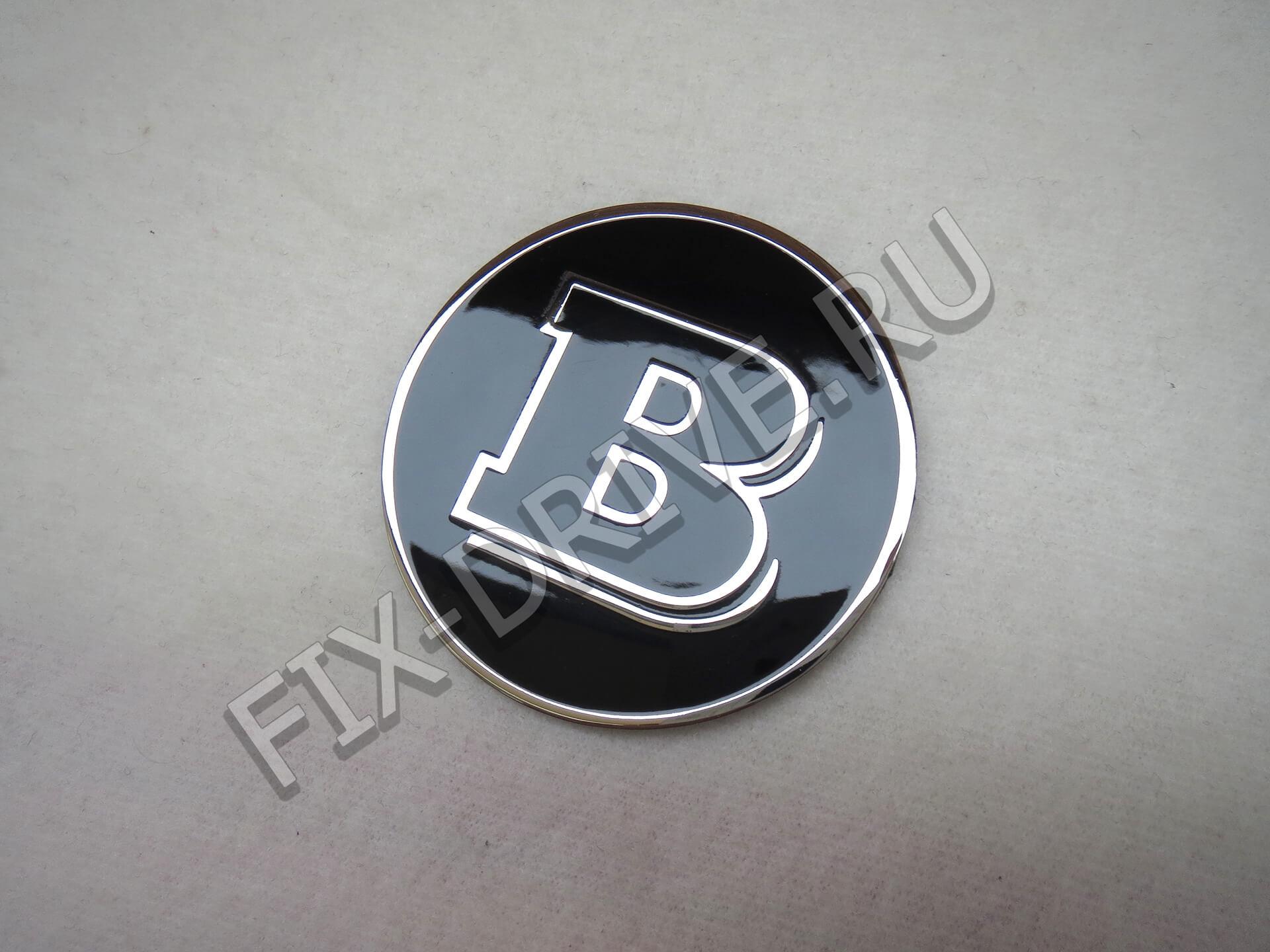Эмблема в капот Brabus w140 S-Class
