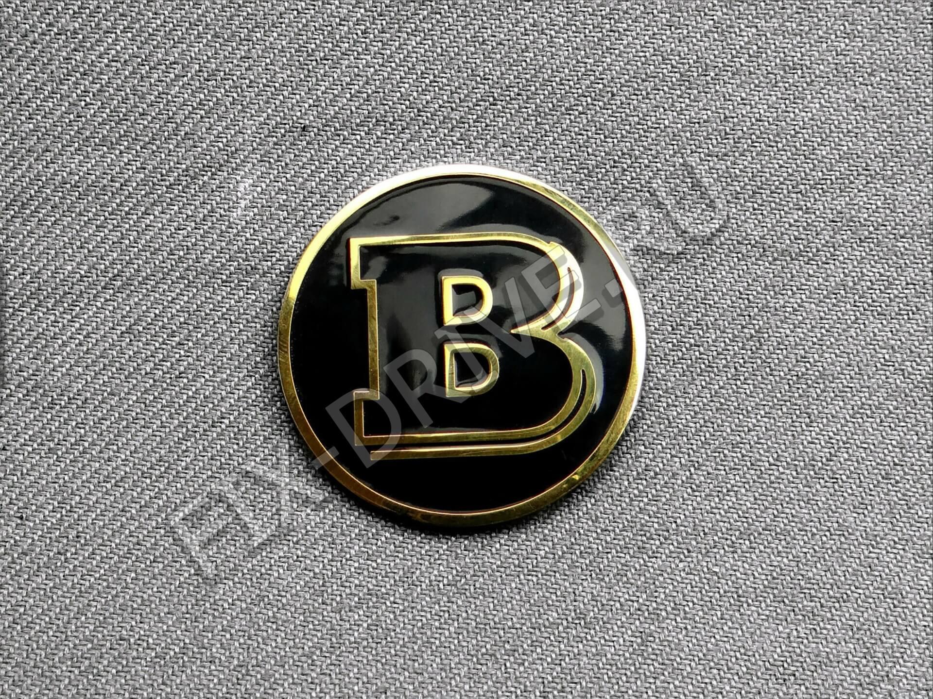 Эмблема Brabus золото w 464 Mercedes G-Class
