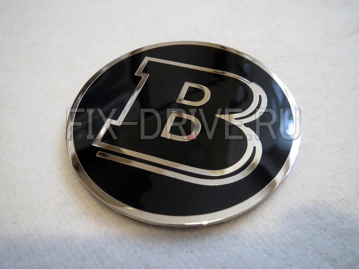 Эмблема шильд Brabus капот руль багажник Mercedes-Benz V-Class w638