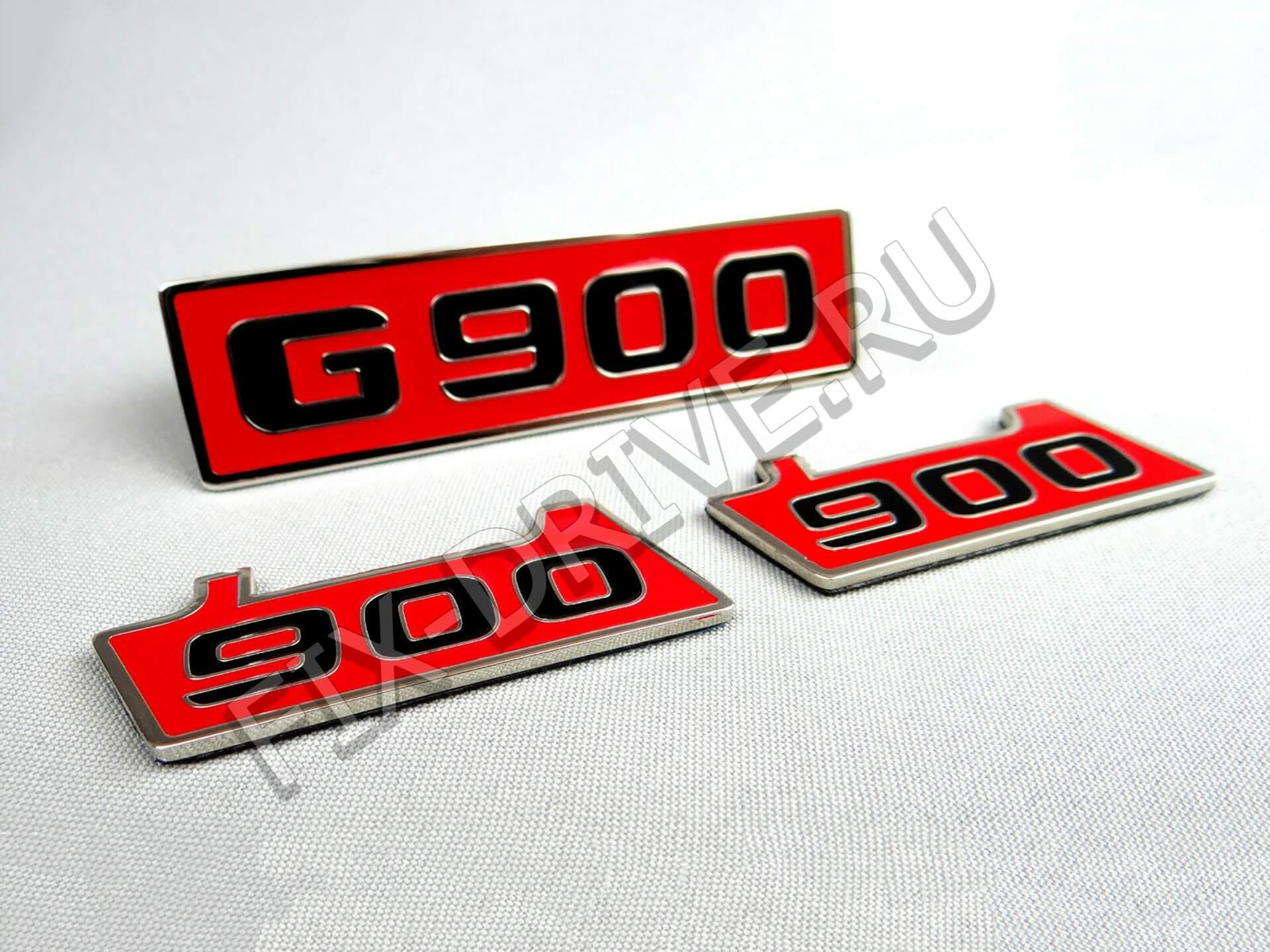 Эмблема шильд G900 в крылья и решетку w 464 G-Class Brabus