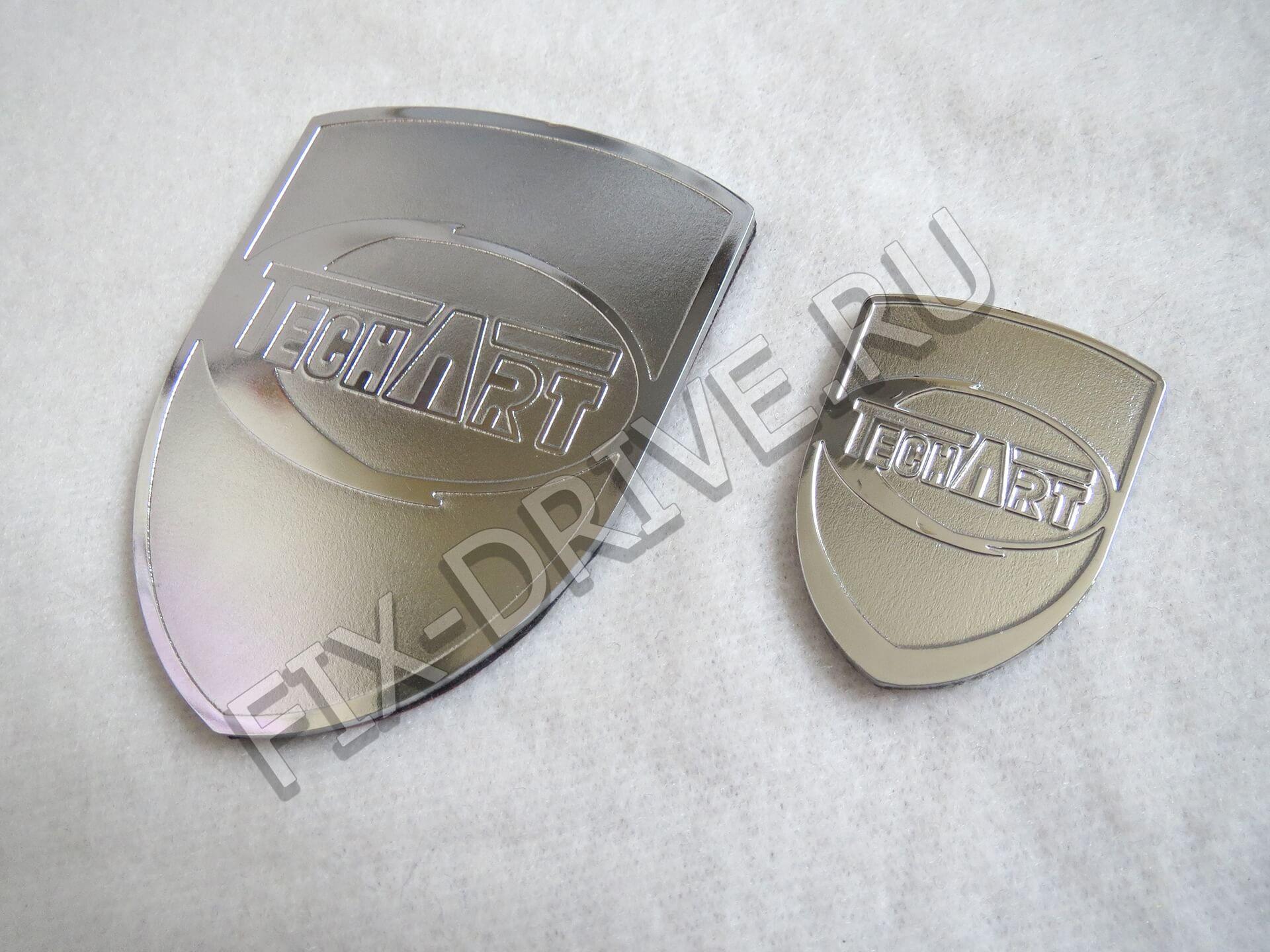 Эмблема TechArt Cayenne 958 руль и капот Porsche