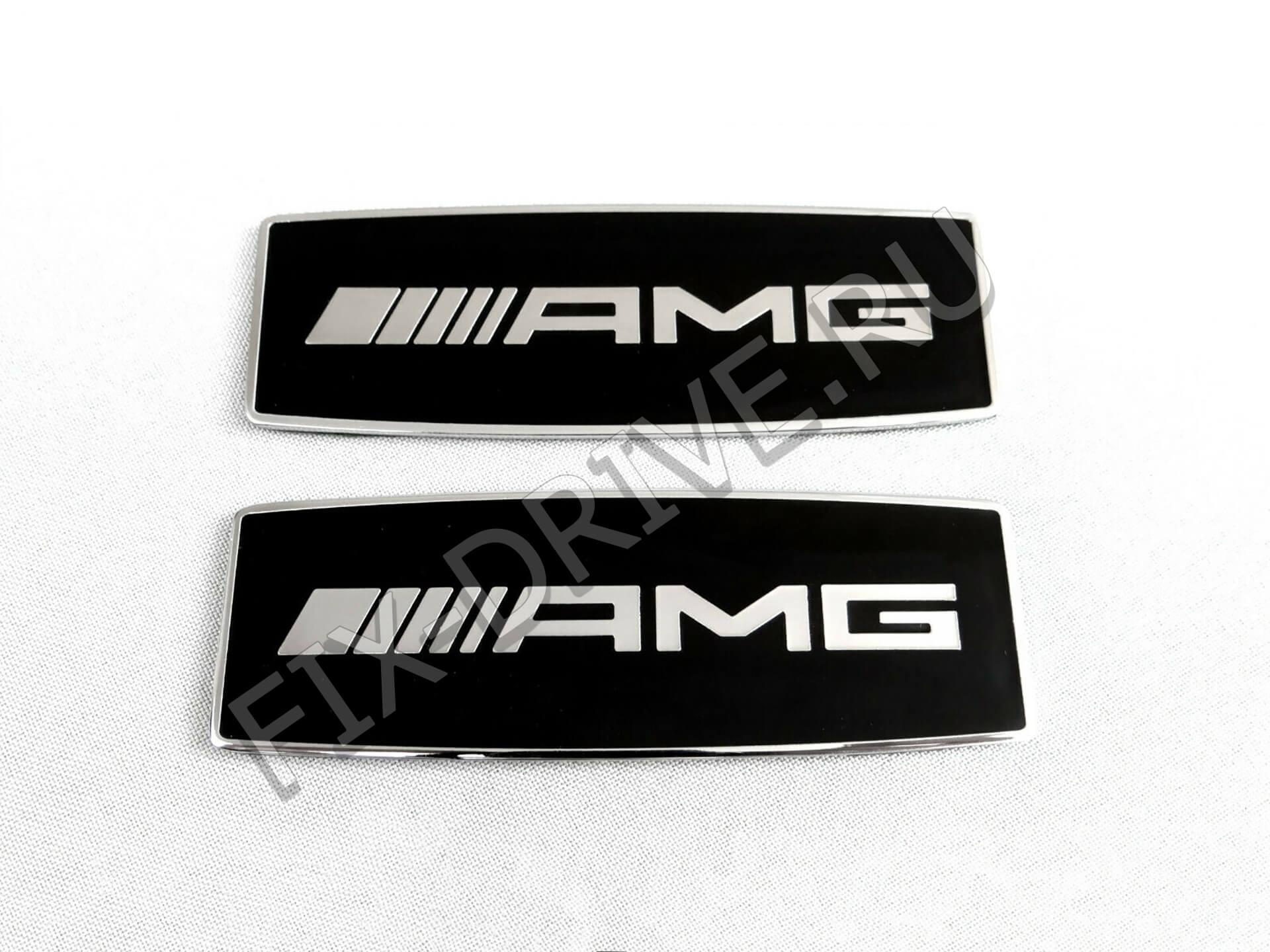 Эмблемы AMG G w463 прямоугольные