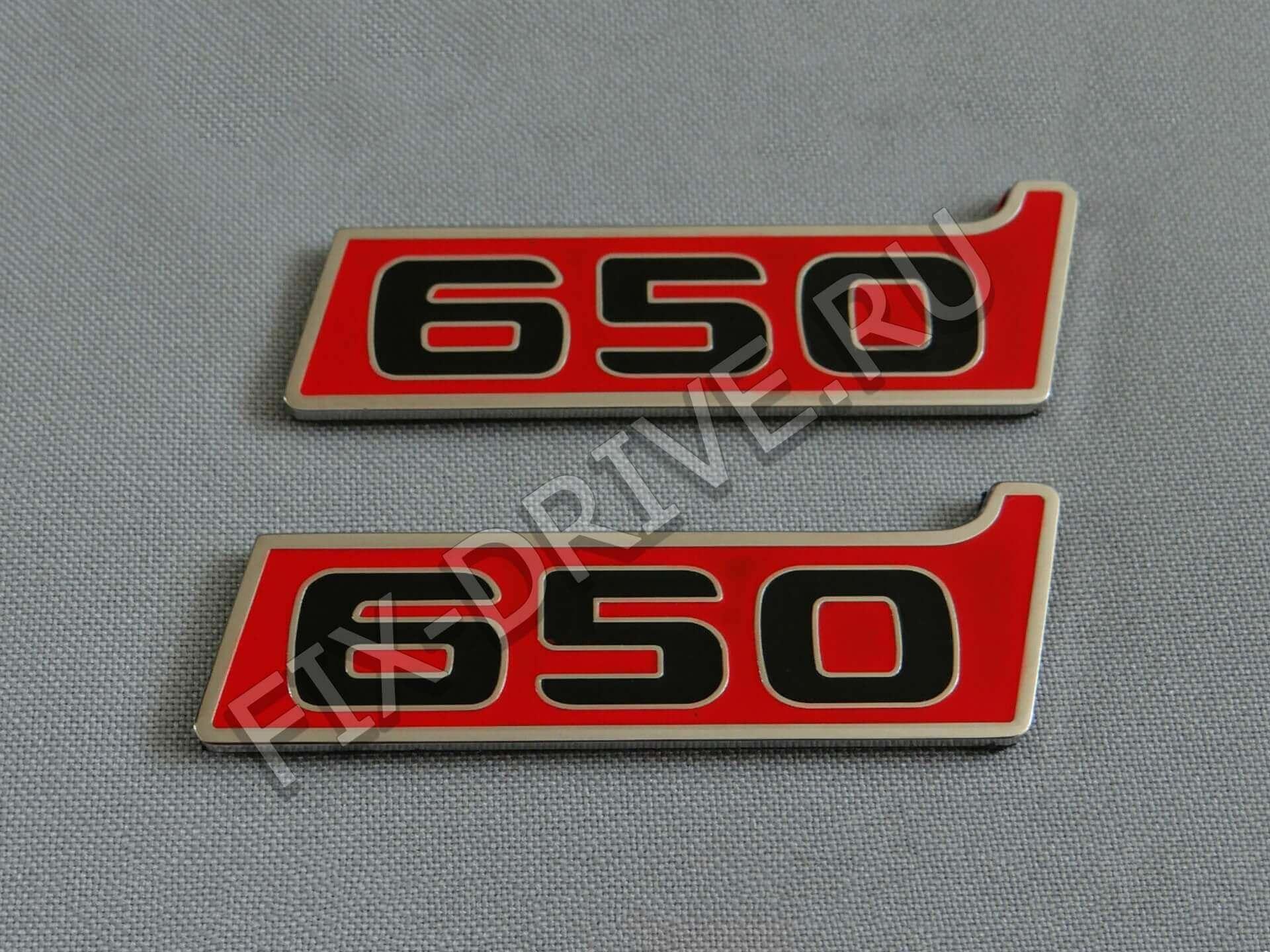 Эмблемы Brabus G650 в крылья w463 G-Class