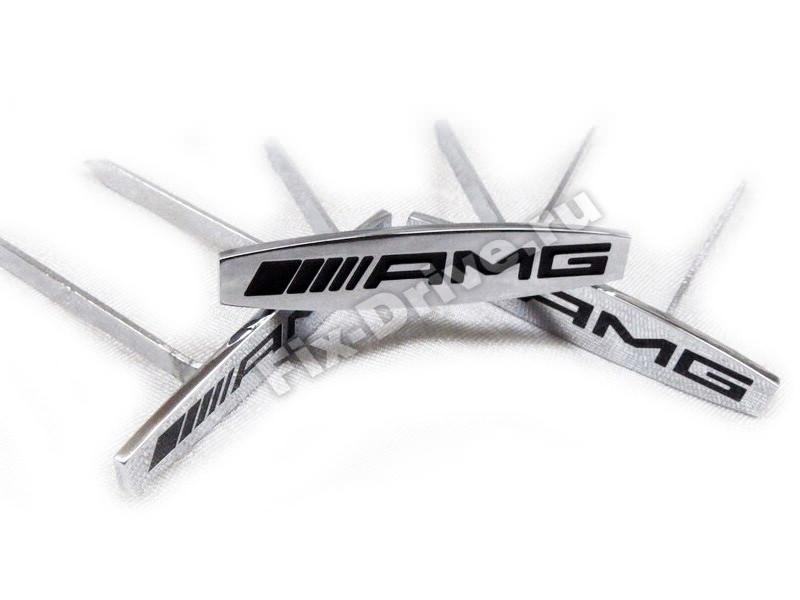 Эмблема шильд AMG сидения Mercedes-Benz SL-Class r230 AMG
