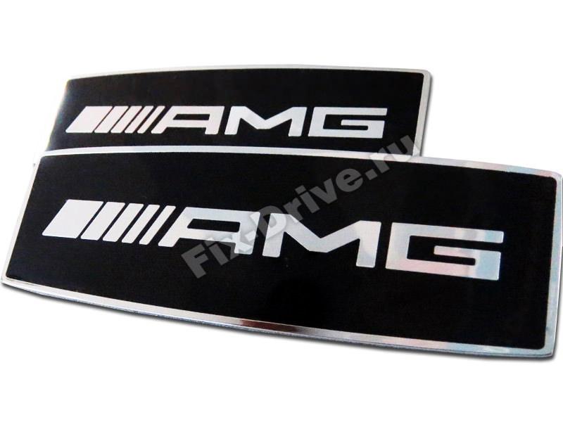 Эмблема шильд AMG широкий Mercedes-Benz Brabus SLK-Class r170