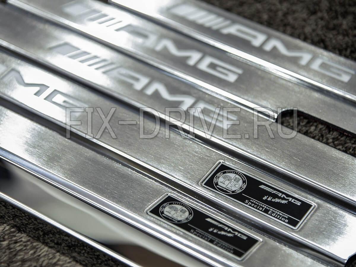 Пороги AMG G63 G65 Gelendwagen с подсветкой