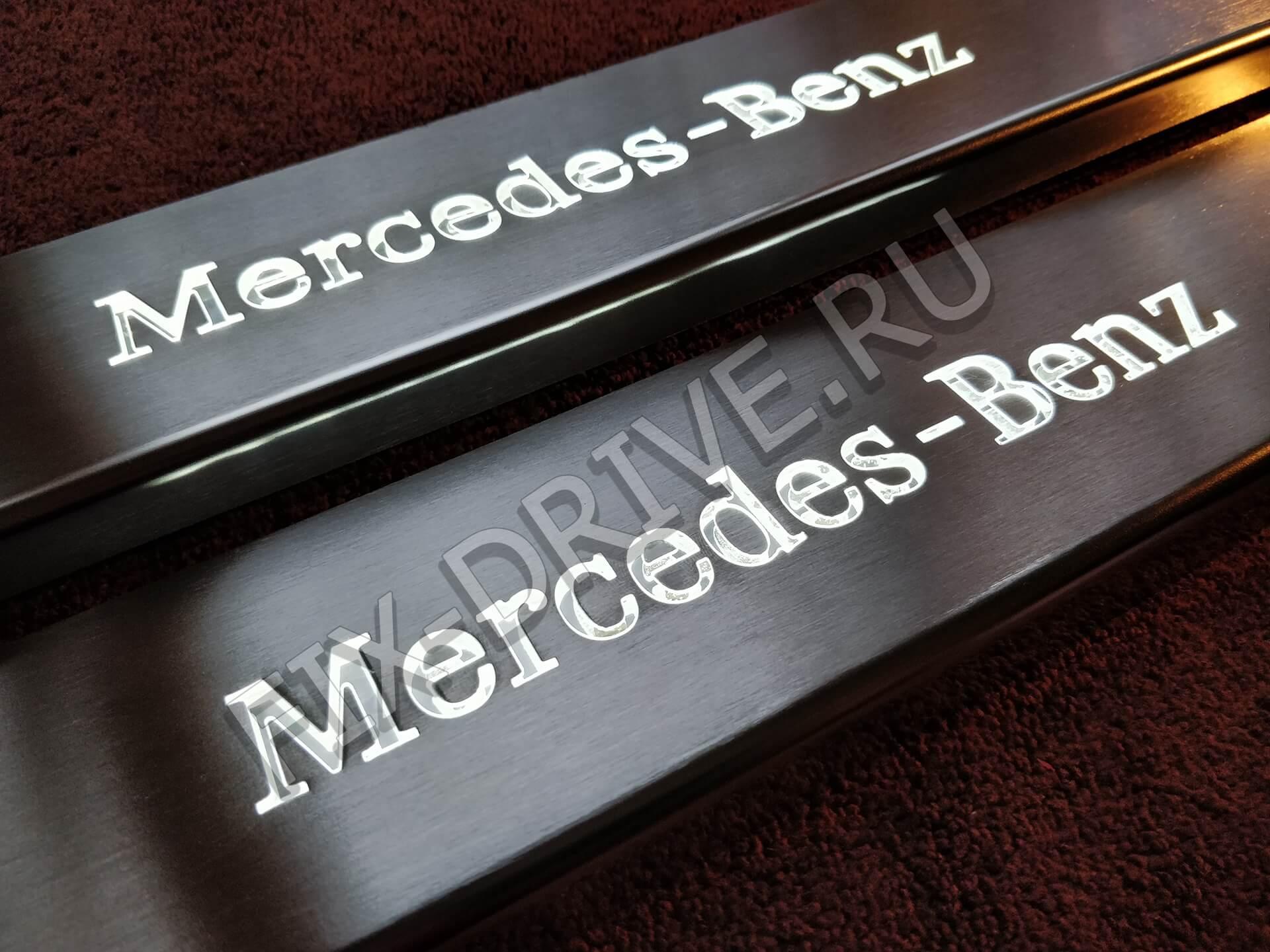 Пороги r 170 Mercedes с подсветкой SLK-Class