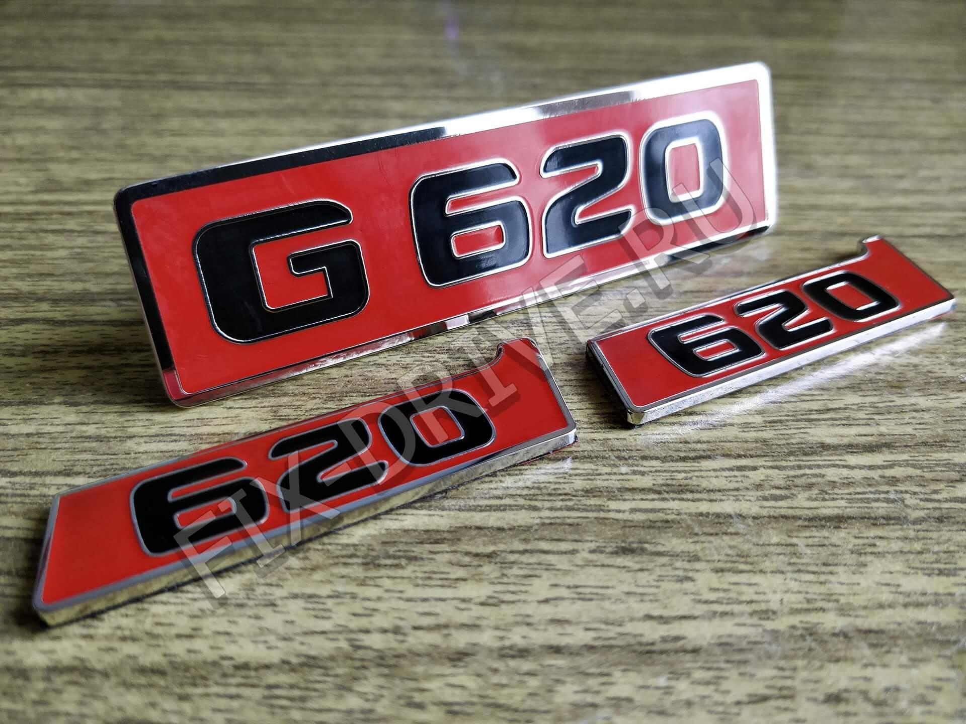 Эмблема шильд G620 в крылья и решетку w463 G-Class Brabus