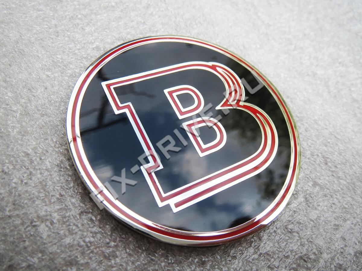 Эмблема шильд Brabus красный Mercedes-Benz G-Class w463