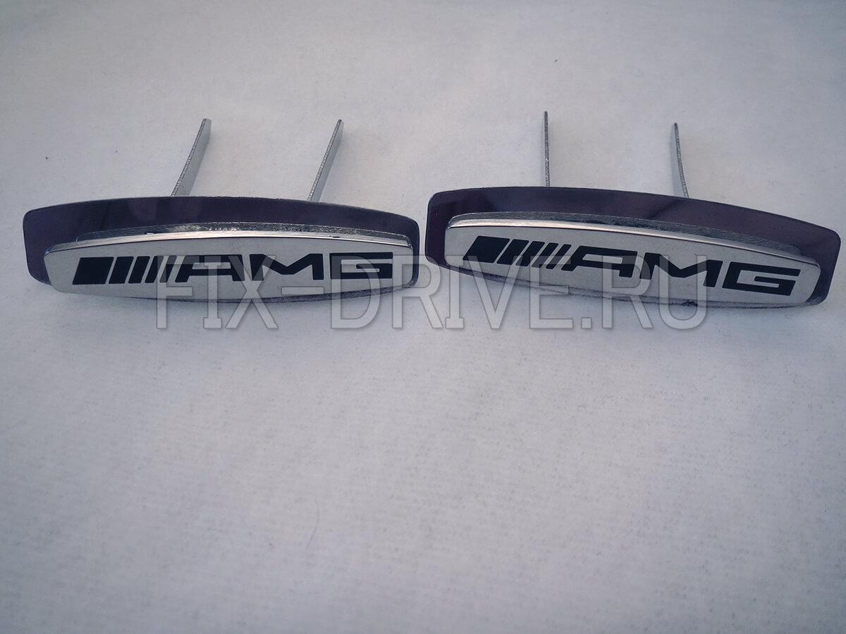 Эмблема шильд AMG сидения Mercedes-Benz G-Class w463 AMG