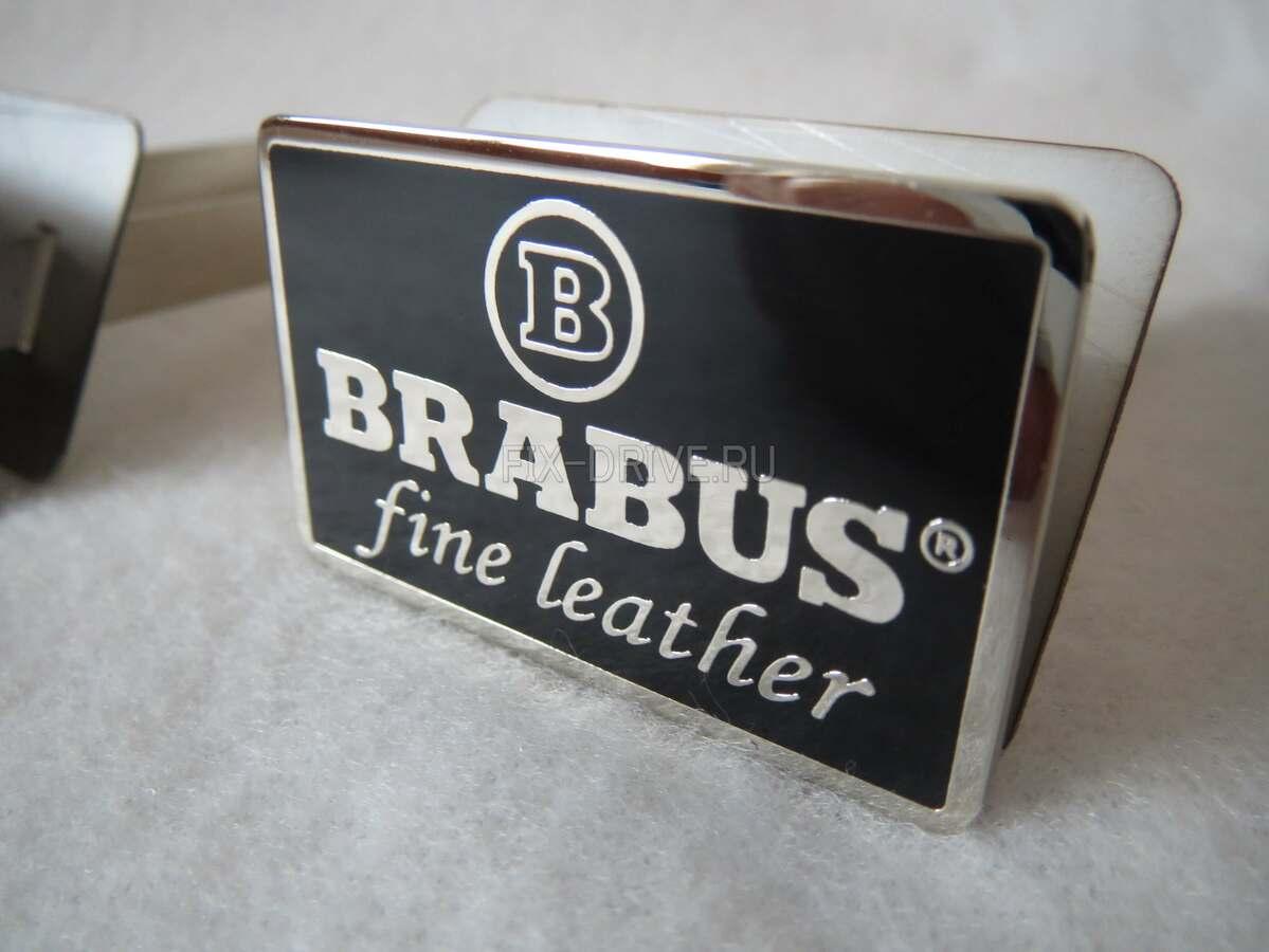Fine leather BRABUS хром W463 G-Class Mercedes-Benz эмблемы в сидения