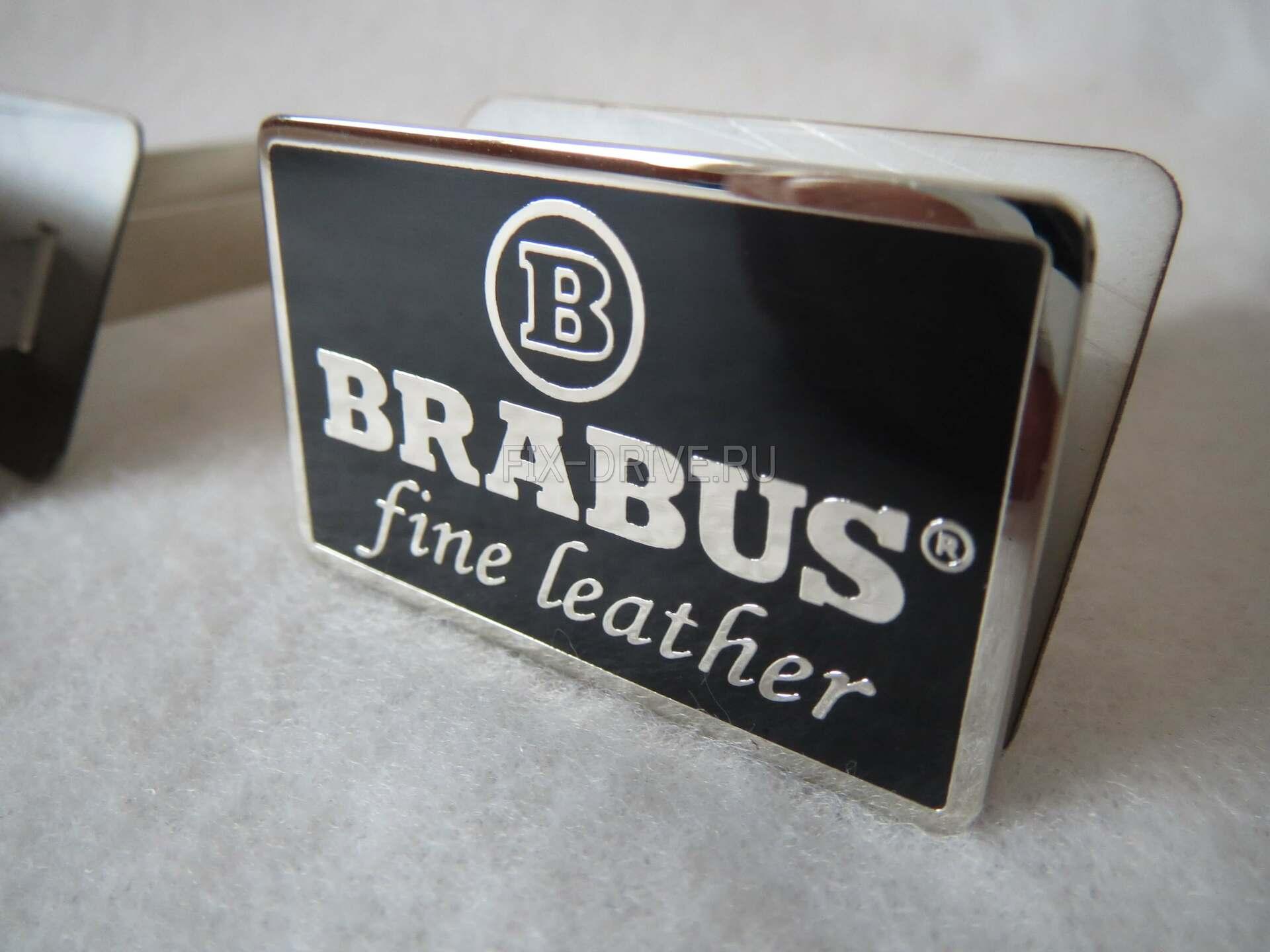 Fine leather BRABUS хром w 464 G-Class Mercedes-Benz эмблемы в сидения