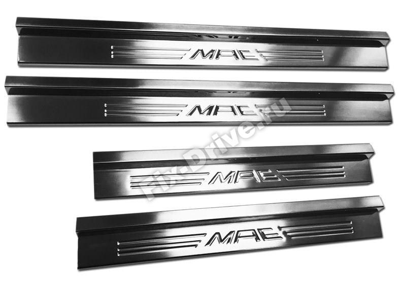 Накладки на пороги Mercedes-Benz E-Class w124 MAE
