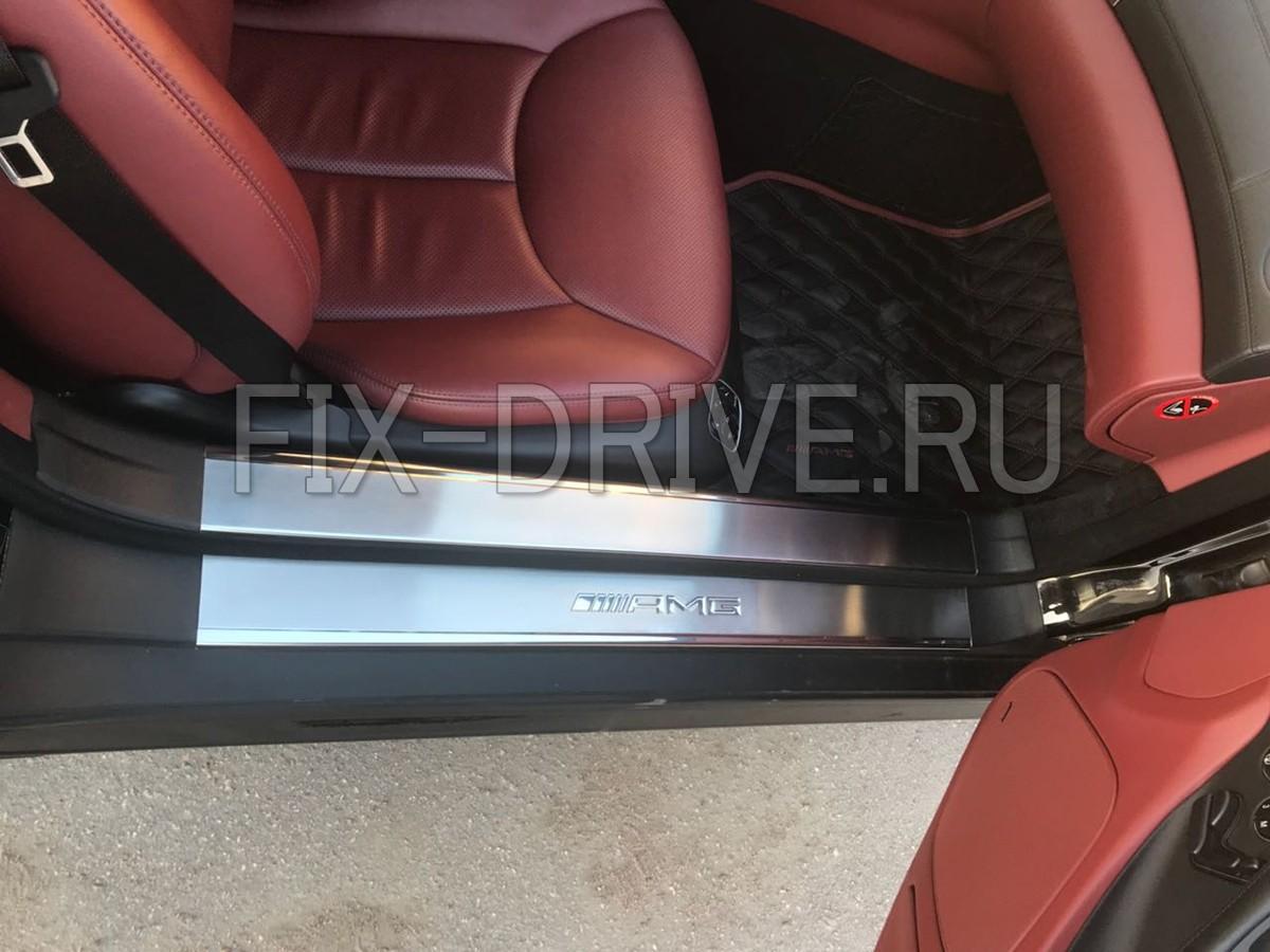Пороги с подсветкой Mercedes-Benz SL-Class r230 AMG w230