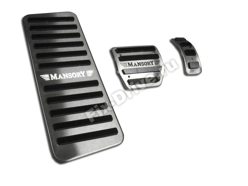 Накладки на педали с подсветкой Continental GT Mansory