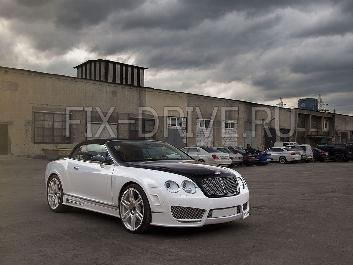 Покрытие нанокерамикой Bentley Ceramic pro 9H