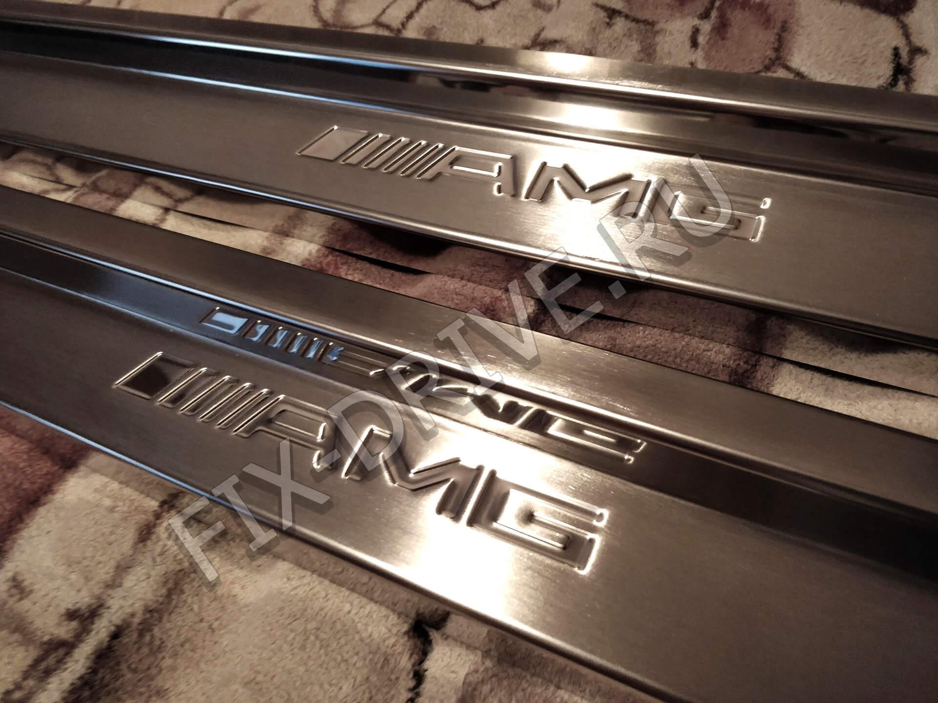 Пороги c124 AMG w125 E-Class E300