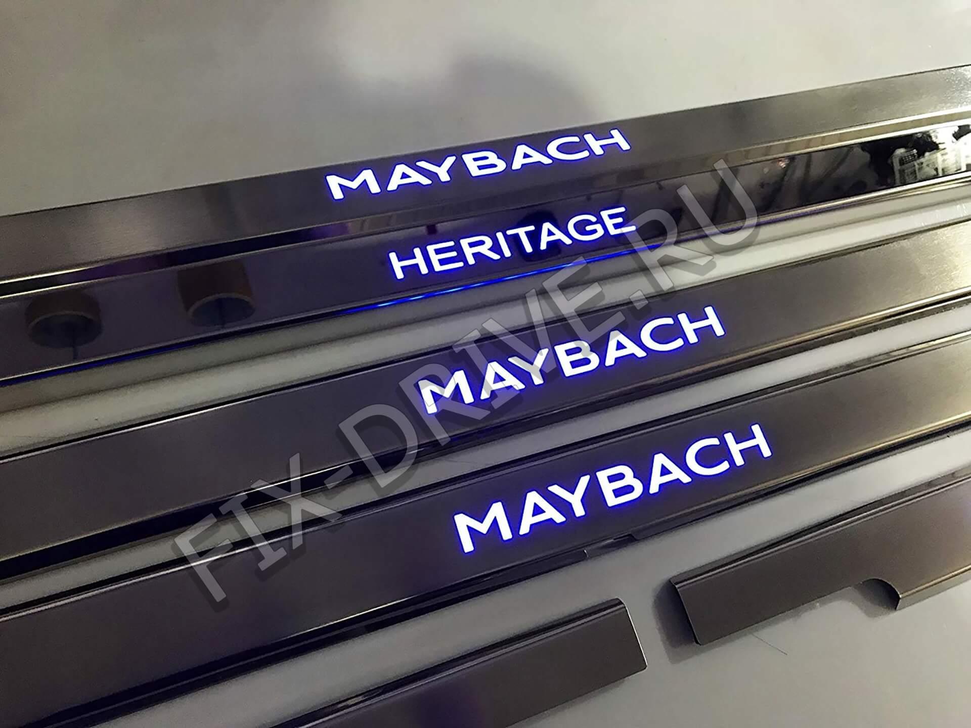 Пороги Maybach G-Class w463 G63 G65 Гелендваген