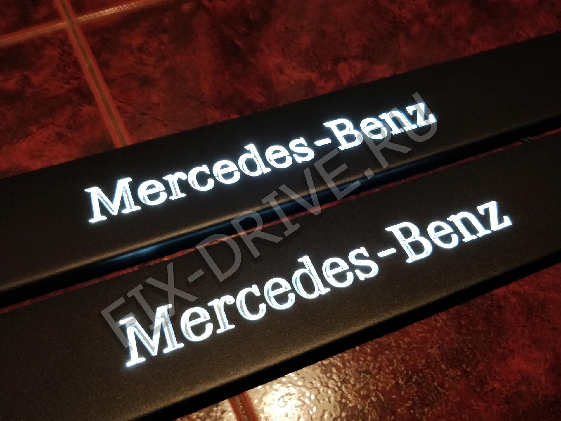 Пороги r171 SLK Class Mercedes с подсветкой SLK-Class