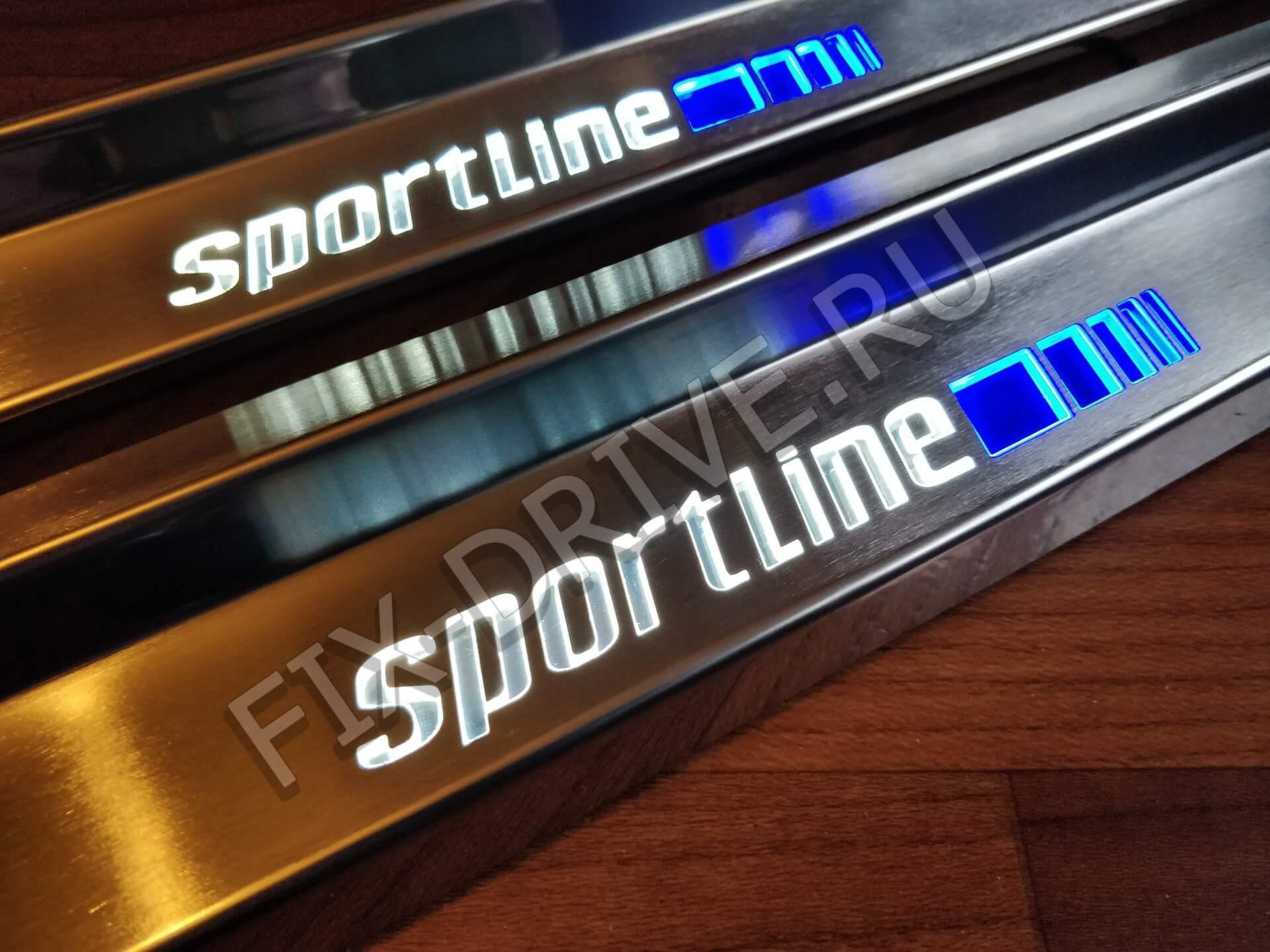Пороги Sportline w 124 E-Class