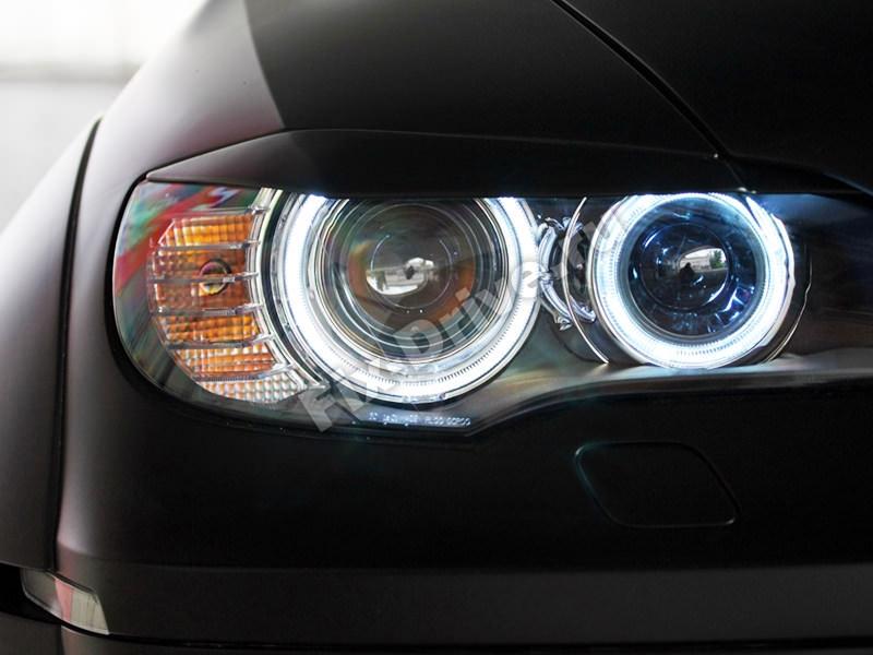 Реснички на передние фары BMW X6 (E71)