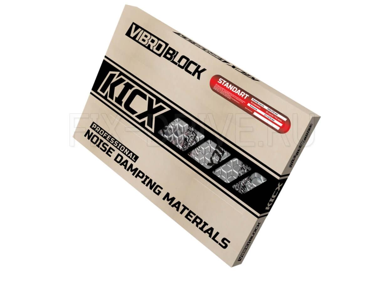 Виброизоляция Kicx Standart 2.1 мм